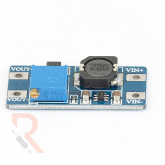 Moduł przetwornicy napięcia step-up MT3608 2-24V/4-28V