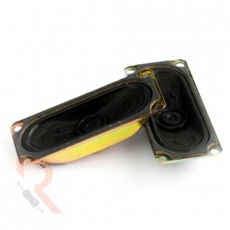 Głośnik [RÓŻNE WARIANTY] - 8Ω - 5W - Prostokątny 70x30mm h17mm