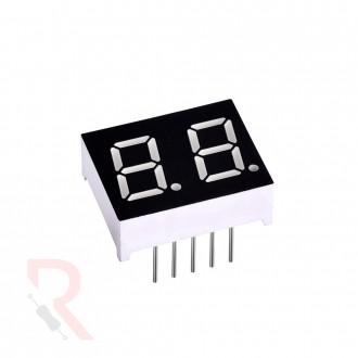 Wyświetlacz LED 7-segmentowy [RÓŻNE WARIANTY] - 2 cyfry -...