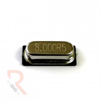 Rezonator kwarcowy [RÓŻNE WARIANTY] - powierzchniowy (SMD) - 8MHz