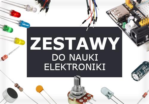 Zestawy do nauki elektroniki - wszystko co niezbędne na początek w jednym miejscu